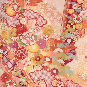 桂由美振袖レンタル0144M裾,桂由美,振袖レンタル,安い,相場,成人式,結婚式,貸衣装,着付け,美容室