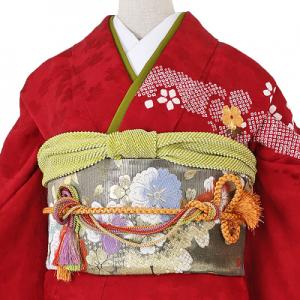 絞り総刺繍振袖レンタル0275-LO帯