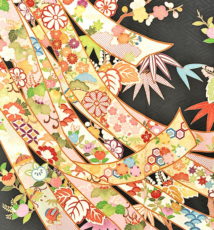 吉澤友禅振袖レンタル0072M裾吉澤友禅,振袖レンタル,安い,相場,成人式,結婚式,貸衣装,着付け,美容室